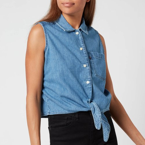 Levi's Women's Rumi Button Shirt - G'day Mate - L 29958 0001 General Clothing, Blue