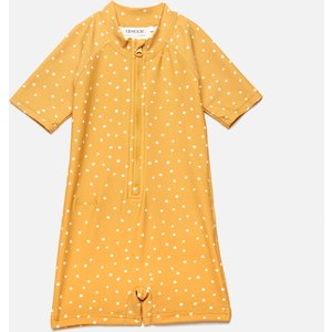 Liewood Girls' Max Swim Jumpsuit - Confetti Yellow Mellow Mix - 1.5-2 Years Lw14126 Childrens Clothing, Yellow