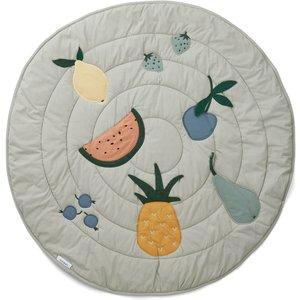 Liewood Gitta Kids' Activity Play Blanket - Fruit Dove Blue Lw13050 Home Accessories, Multi