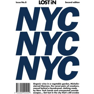 Lost In: Nyc 8 Books, White