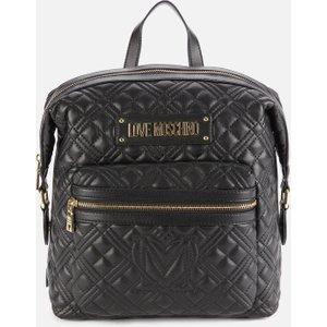 Love Moschino Women's Quilted Backpack - Black Jc4012pp1c000 Womens Accessories, Black
