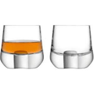 Lsa Whisky Cut Tumblers - Set Of 2 Wh13 Kitchen
