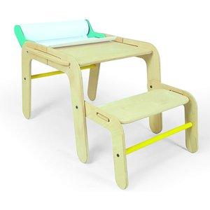 Mamatoyz Medium Table And Desk 8681628601422 Baby Toys, Brown