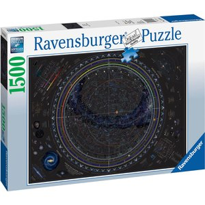 Map Of The Universe Jigsaw Puzzle (1500 Pieces) 16213 Games, Puzzles & Learning