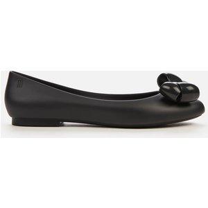 Melissa Women's Doll Bubble Bow Ballet Flats - Black - Uk 6 33379 50481 Mens Footwear, Black