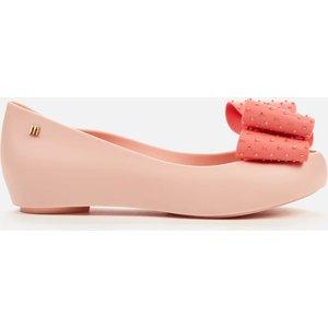 Melissa Women's Ultragirl Dot Bow Ballet Flats - Pink Contrast - Uk 7 33355 51575 Mens Footwear, Pink