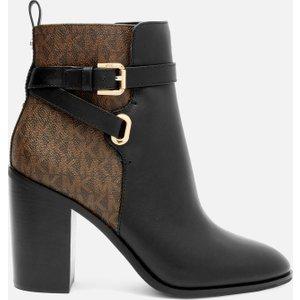 Michael Michael Kors Women's Aldridge Heeled Boots - Black/brown - Uk 5 40r1alfe8l007 Womens Footwear, Black