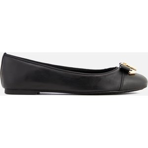 Michael Michael Kors Women's Alice Leather Ballet Flats - Black - Uk 6.5 40t7alfp2l 001 Mens Footwear, Black