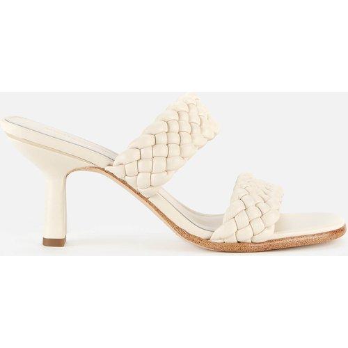 Michael Michael Kors Women's Amelia Leather Heeled Mules - Light Cream - Uk 5 40s1ammp1l Mens Footwear