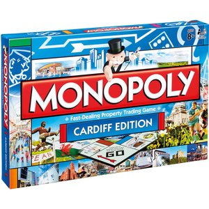 Monopoly Board Game - Cardiff Edition 013024 Games, Puzzles & Learning