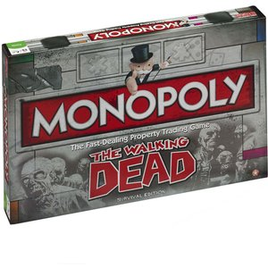 Monopoly Board Game - Walking Dead Edition 21470 Games, Puzzles & Learning