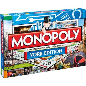 Monopoly Board Game - York Edition 016742 Games, Puzzles & Learning