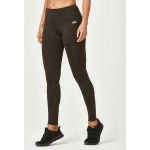 Mp Classic Heartbeat Full Length Leggings - Xs - Dark Khaki Mpw099darkkhaki Mens Sportswear, Dark Khaki