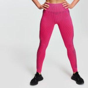 Mp Contrast Seamless Women's Leggings - Super Pink - S Mpw300superpink Mens Sportswear