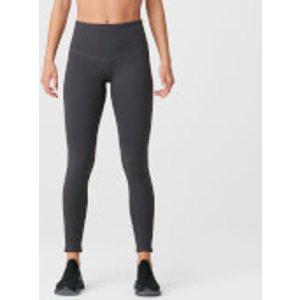 Mp Luxe Elite Leggings - Slate Grey - S - Slate Grey Mpw181slategrey Mens Sportswear, Slate Grey