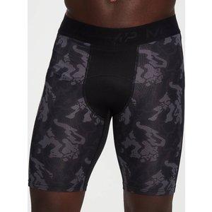 Mp Men's Adapt Camo Base Layer Shorts -black Camo - L Mpm536blackcamo Mens Sportswear, Black