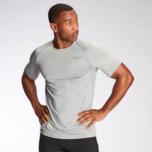 Mp Men's Agility Short Sleeve T-shirt - Storm - L Mpm556storm Mens Sportswear, Grey