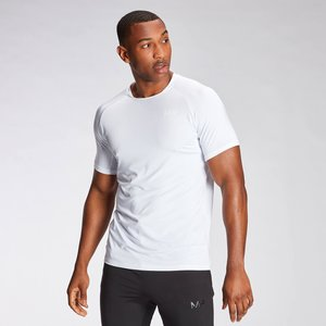 Mp Men's Agility Short Sleeve T-shirt - White - M Mpm556white Mens Sportswear, White