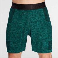 Mp Men's Essential Seamless Shorts- Energy Green Marl - Xs Mpm519energygreen Mens Sportswear, Green