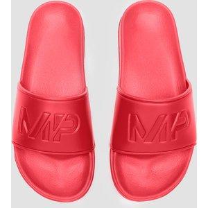 Mp Men's Sliders - Danger - Uk 10 Mpa129danger Sportswear & Swimwear, Red