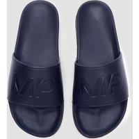 Mp Men's Sliders - Navy - Uk 9 Mpa129navy Sportswear & Swimwear, Blue