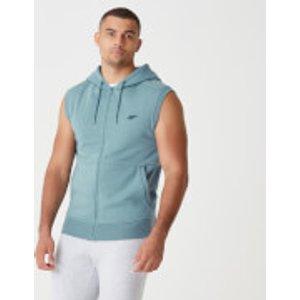 Mp Tru-fit Sleeveless Hoodie 2.0 - Airforce Blue - S Mpm193airforceblue Mens Sportswear, Blue