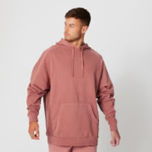 Mp Washed Pullover Hoodie - Russet - Xs Mpm310russet Mens Sportswear, Orange