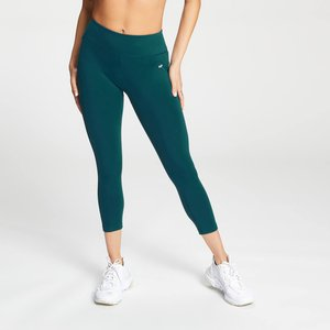 Mp Women's 3/4 Power Leggings - Deep Teal - Xxl Mpw591deepteal Mens Sportswear, Green