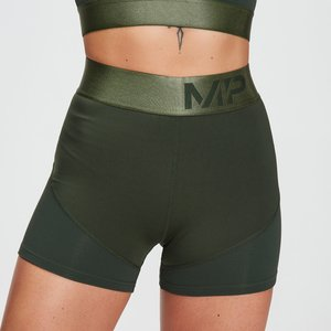 Mp Women's Adapt Textured Shorts- Dark Green - Xxl Mpw584darkgreen Mens Sportswear, Green