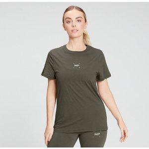 Mp Women's Central Graphic T-shirt - Dark Olive - Xxl Mpw605darkolive Ss21 Mens Sportswear, Green