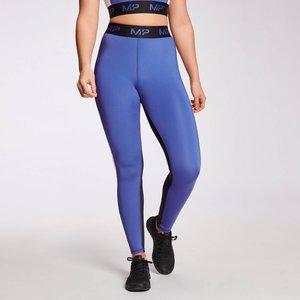 Mp Women's Engage Colour Block Leggings - Black / White / Cobalt - Xxs Mpw541cobalt Mens Sportswear, Blue