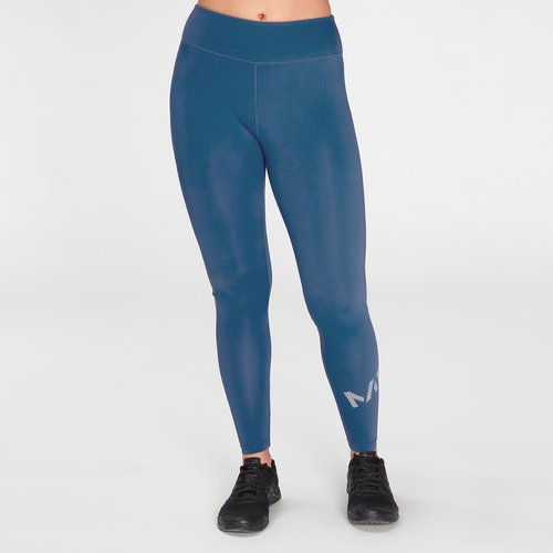 Mp Women's Essentials Printed Training Leggings - Pilot Blue - L Mpw590pilotblue Mens Sportswear