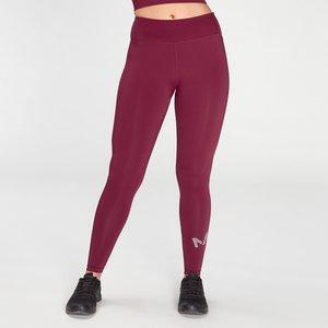 Mp Women's Essentials Printed Training Leggings - Plum - Xxs Mpw590plum Mens Sportswear, Red