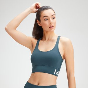 Mp Women's Essentials Training Sports Bra - Deep Sea Blue - Xxl Mpw496deepseablue Mens Sportswear, Blue