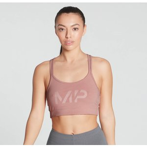 Mp Women's Gradient Line Graphic Sports Bra - Washed Pink - Xs Mpw790washedpink Mens Sportswear, Pink