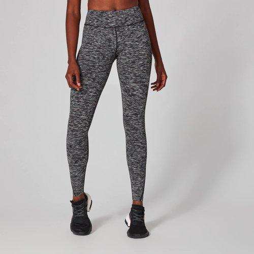 Mp Women's Power Leggings - Black Space Dye - L Mpw215dkspacedyenew Mens Sportswear