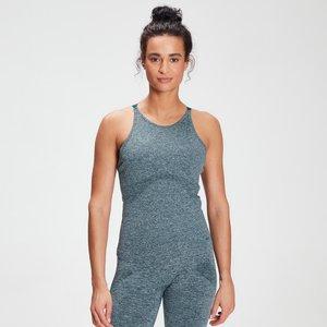 Mp Women's Raw Training Seamless Vest - Deep Sea Blue - L Mpw548deepseablue Mens Sportswear, Blue