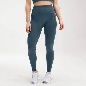 Mp Women's Shape Seamless Ultra Leggings - Deep Sea Blue - L Mpw376deepseablue Mens Sportswear, Blue