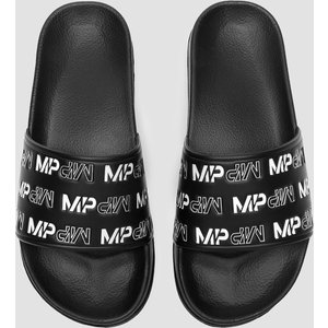 Mp Women's Sliders - Black/white - Uk 5 Mpa128black/white Sportswear & Swimwear, Black