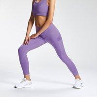 Mp Women's Tempo 7/8 Leggings - Deep Lilac - M Mpw662deeplilac Mens Sportswear