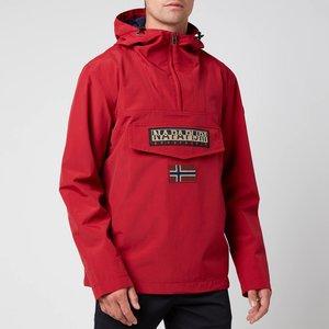 Napapijri Men's Rainforest M Sum 2 Jacket - Old Red - L Np0a4fdn0941 General Clothing, Red