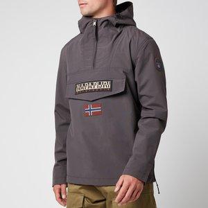 Napapijri Men's Rainforest M Sum 2 Jacket - Volcano - Xl Np0a4fdnh741 General Clothing, Grey