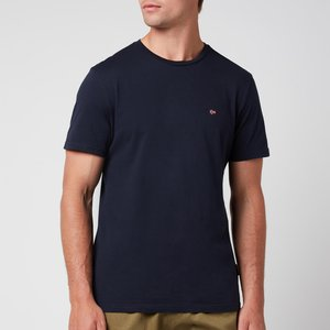Napapijri Men's Salis Crewneck T-shirt - Blu Marine - S Np0a4ew81761 General Clothing, Blue