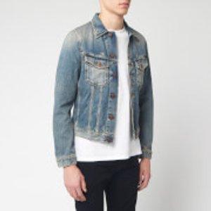 Nudie Jeans Men's Billy Denim Jacket - Shimmering Indigo - S 160606 Mens Outerwear, Blue
