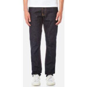 Nudie Jeans Men's Dude Dan Straight Jeans - Dry Comfort Dark - W36/l34 - Blue 112529 Mens Trousers, Blue