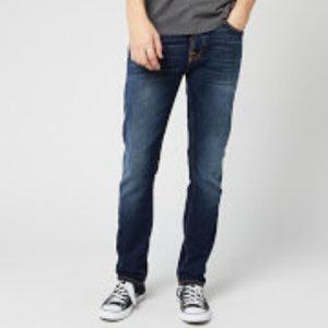Nudie Jeans Men's Grim Tim Jeans - Ink Navy - W32/l32 113039 Mens Trousers, Blue