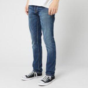 Nudie Jeans Men's Grim Tim Jeans - True Navy - W30/l34 113123 Mens Trousers, Blue