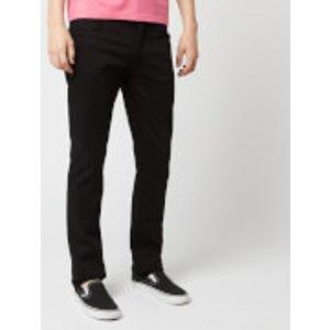 Nudie Jeans Men's Grim Tim Slim Jeans - Dry Cold Black - W34/l34 112302 Mens Trousers, Black