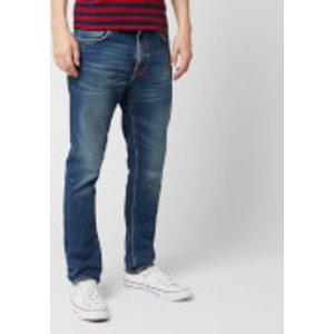 Nudie Jeans Men's Lean Dean Straight Jeans - Indigo Shades - W30/l34 - Blue 113088 Mens Trousers, Blue