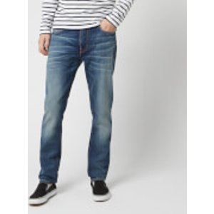 Nudie Jeans Men's Lean Dean Straight Jeans - Lost Legend - W30/l34 - Blue 112582 Mens Trousers, Blue